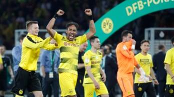 Coppa di Germania: Eintracht-Borussia Dortmund 1-2, trofeo a Aubameyang