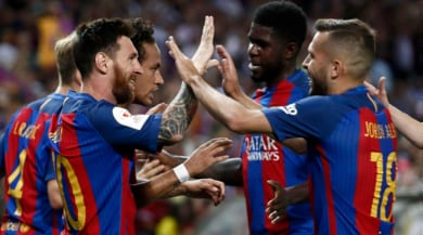Coppa del Re, trionfa il Barcellona: Alaves battuto 3-1