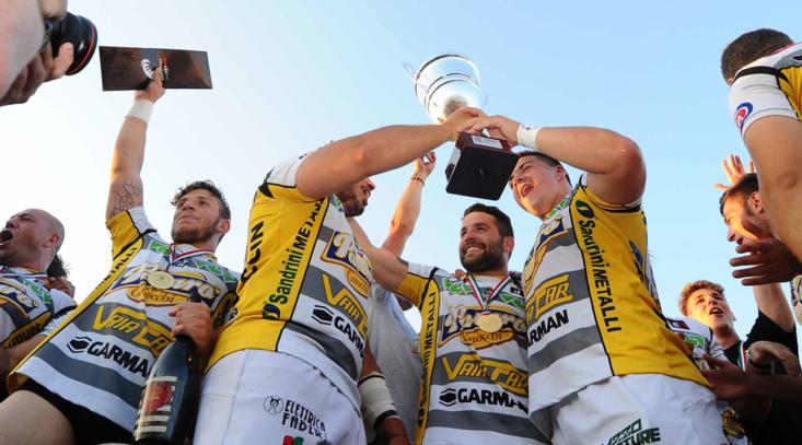 Rugby, Calvisano campione: 43-29 contro Rovigo nella finale scudetto