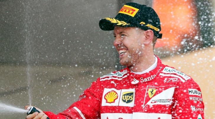 F1 Ferrari, Vettel: «Gara incredibile, ottimo lavoro del team»