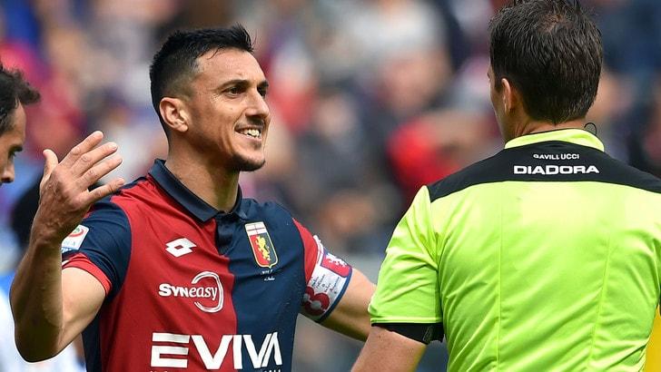 Roma-Genoa Burdisso:
