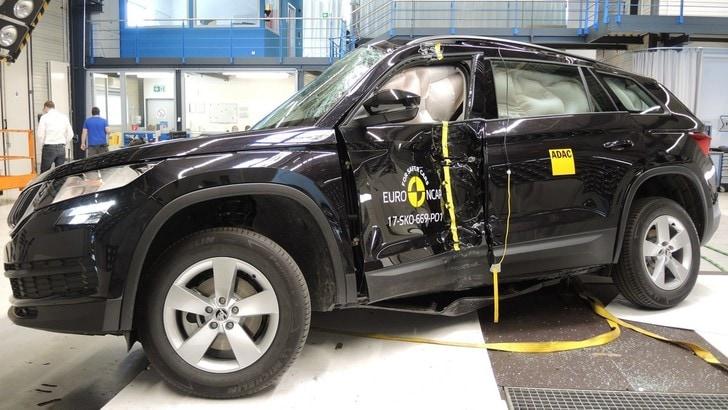 Crash test Euro NCAP, punteggio pieno per Countryman e Kodiaq