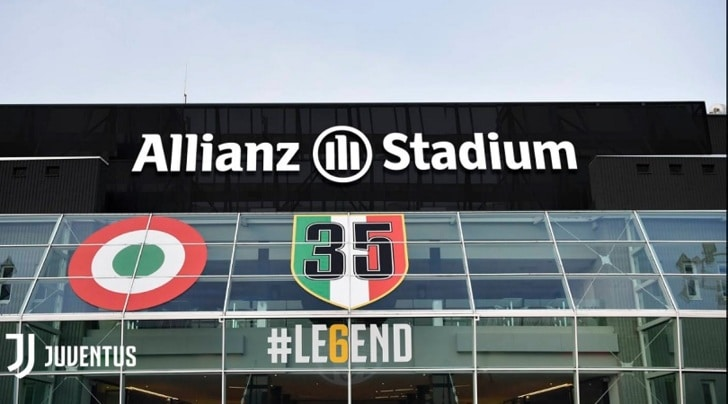 Lo stadio della Juventus diventa Allianz Stadium