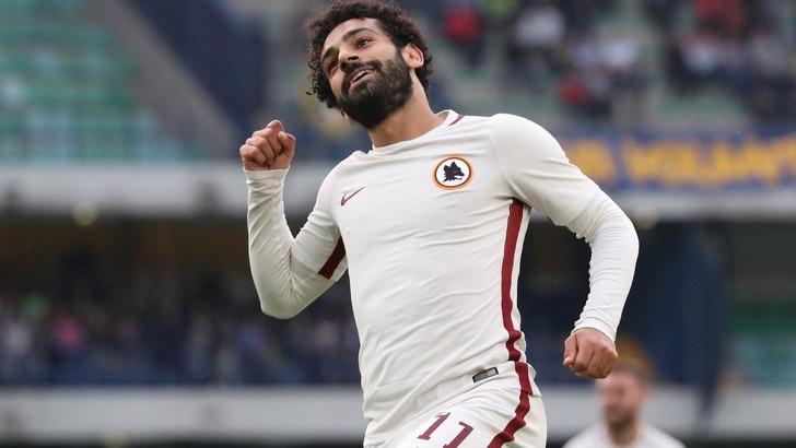 Roma. Mohamed Salah è un giocatore del Liverpool