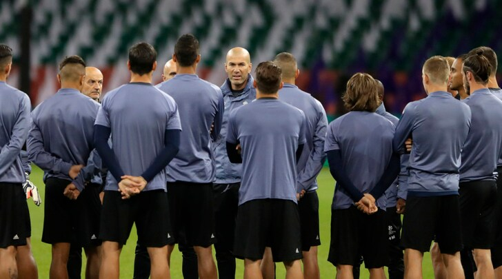 Finale Champions, Zidane manda un BIG del Real Madrid in tribuna!