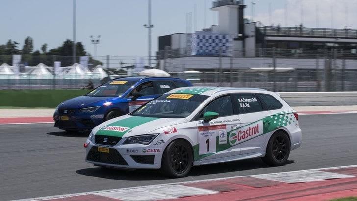 Campionato TCS, Tuttosport corre a Misano con Seat