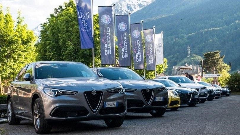 Stelvio Cup Il Raduno Dedicato Al Suv Alfa Romeo Tuttosport