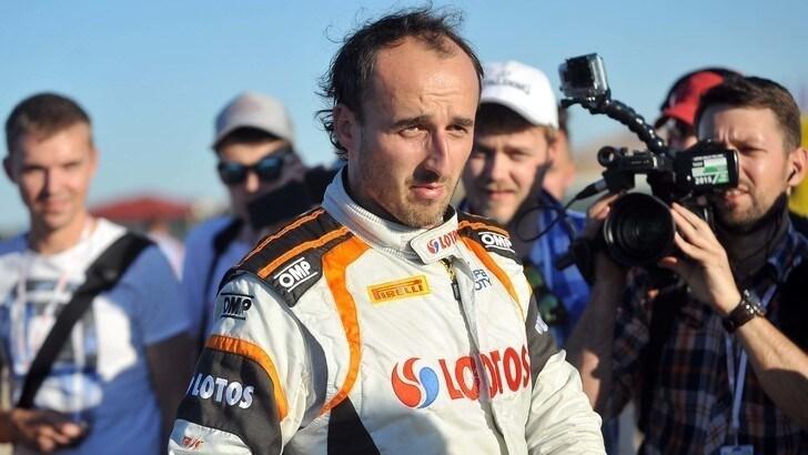 F1, Kubica torna in pista: «Ora capisco cosa mi sono perso»