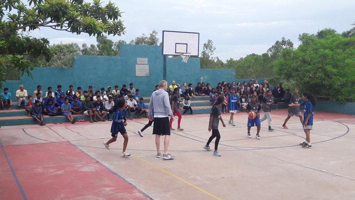 Il basket NBA di Shanti Bhavan