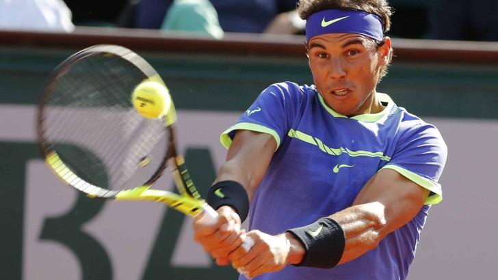 Roland Garros: Nadal a 1,19 per il decimo trionfo a Parigi