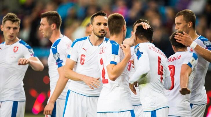 Qualificazione Mondiali 2018, Schick gioca mezz'ora. Ok Germania e Slovacchia