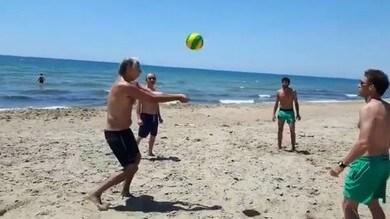 Malagò, schiacciata da presidente...contro Daniele Lupo