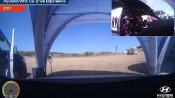 Hyundai WRC Co-Drive Experience: Bo e Sordo presentano il nuovo Tuttosport