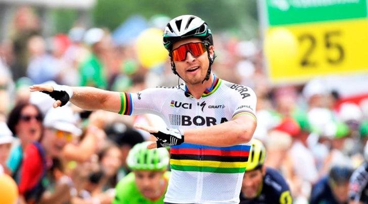 Giro di Svizzera, a Sagan la quinta tappa. Caruso resta leader