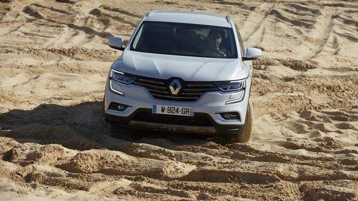 Renault Koleos, spazio e confort alla francese