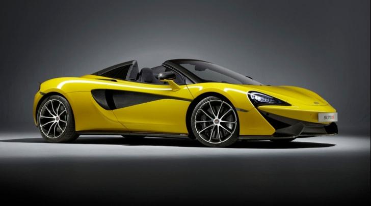 McLaren 570S:: via col vento a 330 km/h