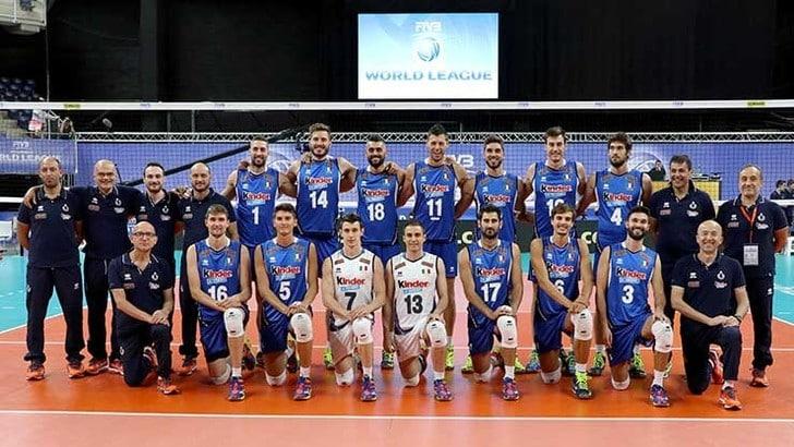 L'Italia torna al successo. 3-2, in rimonta, sulla Francia