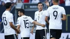 Confederations Cup, Australia - Germania: tedeschi avanti in quota a 1,40