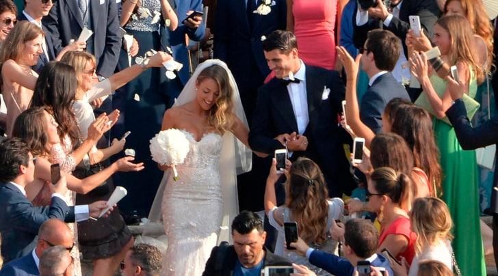 Morata sposa Alice Campello a Venezia. Isco e Zaza invitati