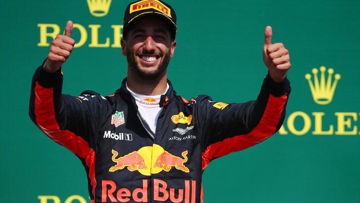 F1, Ricciardo ottimista per Baku