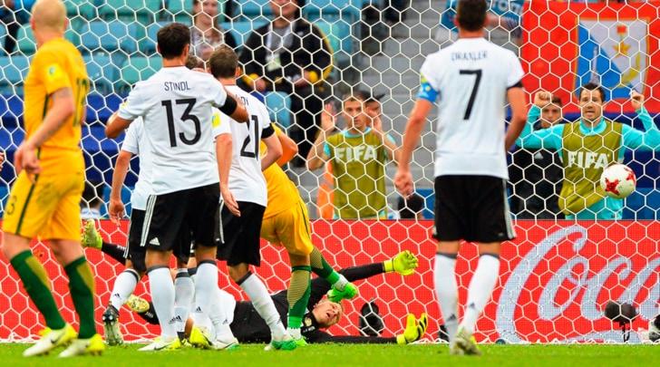 """Confederations Cup: Australia-Germania 2-3, ma che fatica per i """"panzer"""""""