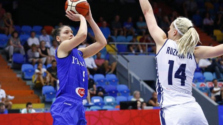 EuroBasket Women 2017: la Lettonia beffa l'Italia