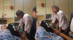 Il cuore di Pippo Inzaghi: visita al tifoso del Foggia gravemente malato