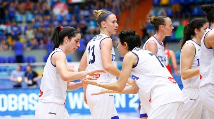 Europei basket femminile, Italia ai quarti: battuta l'Ungheria