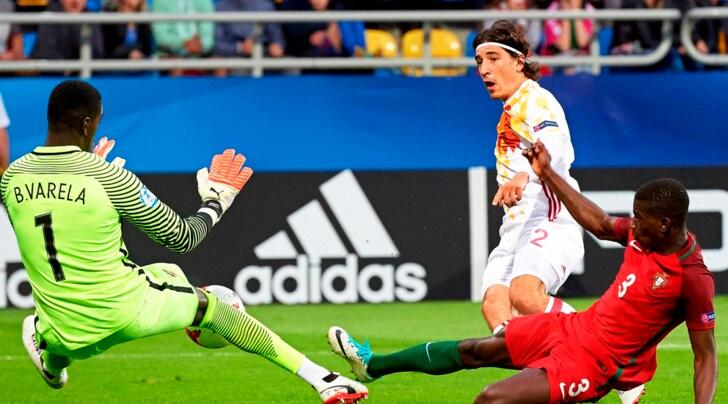 Europei Under 21: Portogallo-Spagna 1-3. La Juventus studia Bellerin e Cancelo