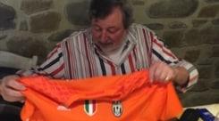 Guccini, che sorpresa di compleanno: «Grazie Juventus e Buffon»
