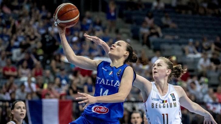 Europeo Femminile, Italia ko contro il Belgio. Ora obiettivo quinto posto