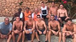 Orsolini, partitella a Ibiza  con Verratti e Ibrahimovic