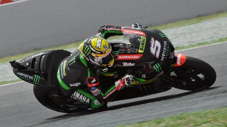 MotoGp, Assen: Zarco in pole sul bagnato, Rossi quarto