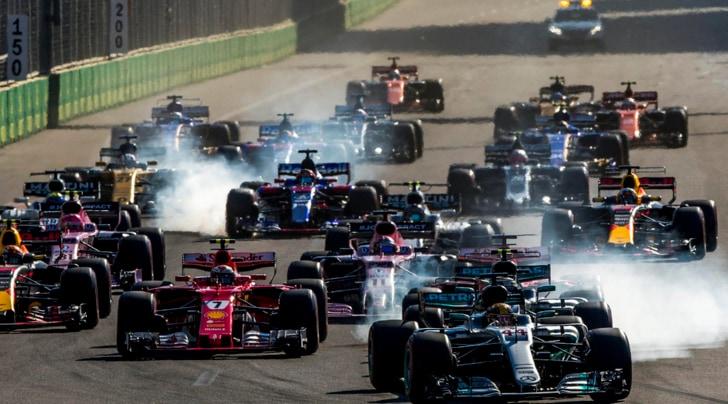 Formula 1 Baku 2017: orari tv e programmazione weekend