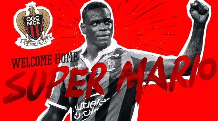 Calciomercato, Mario Balotelli rinnova con il Nizza: è ufficiale