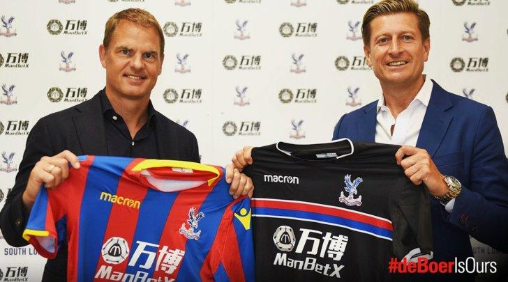Crystal Palace, Frank de Boer è il nuovo allenatore