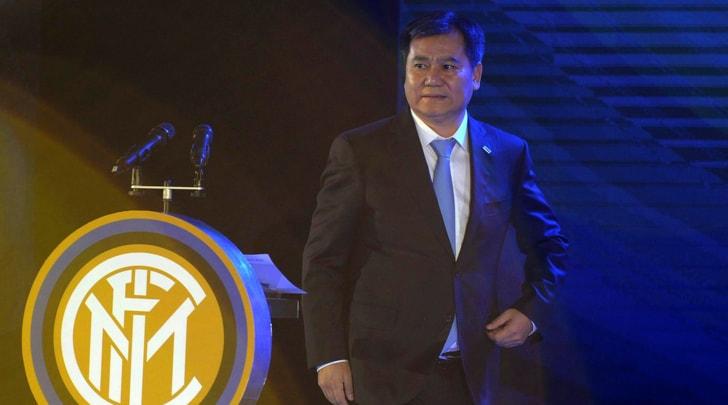 Il logo dell'Inter su smartphone e frigoriferi in Cina