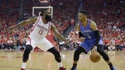 NBA Westbrook ce l'ha fatta: è lui l'MVP