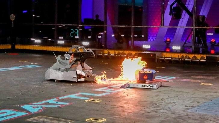 Su Sky ecco Battlebots: botte tra robot