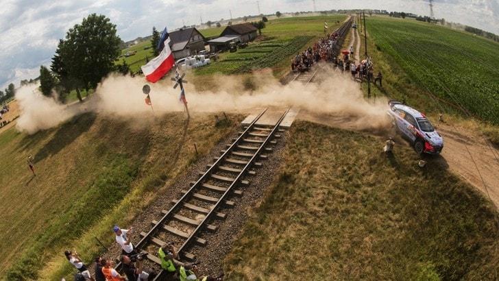 Mondiale Rally Polonia, l'ottava tappa è su Red Bull TV