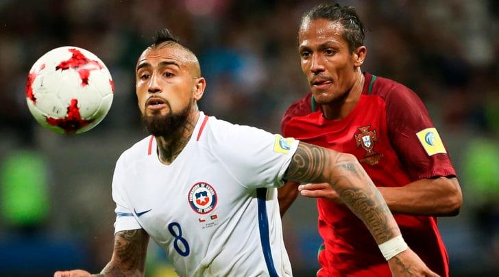 Confederations Cup, Portogallo-Cile 0-3 d.c.r.: Ronaldo a mani vuote, super Bravo ai rigori