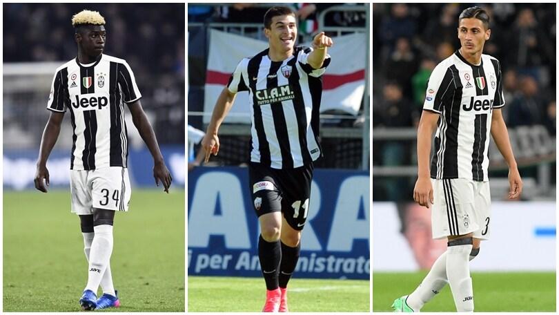 Calciomercato Juventus, la meglio gioventù: dove andranno in prestito?