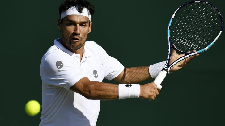 Wimbledon, Fognini avanti su Vesely
