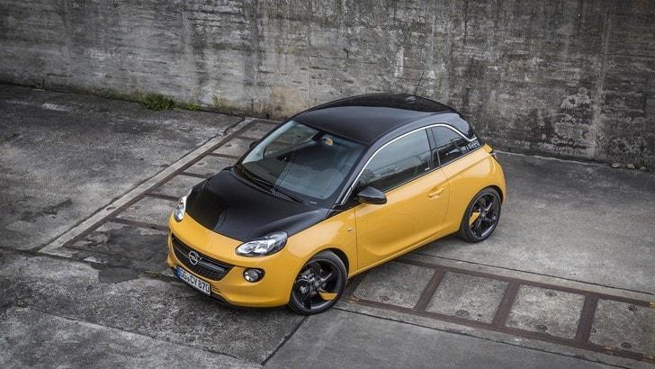 Opel Adam Black Jack: da 14.550 euro