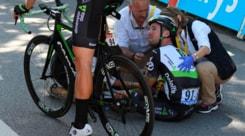 Ciclismo: Cavendish si ritira dal Tour de France, scapola fratturata