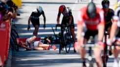 Tour de France, Sagan si discolpa: «Nessuna gomitata a Cavendish»