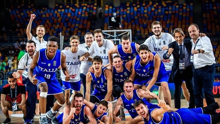 Basket U19, impresa Italia: battuta Spagna, è finale mondiale