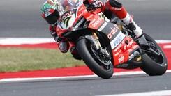 SBK Ducati, Davies: «Non è stata una gara facile»