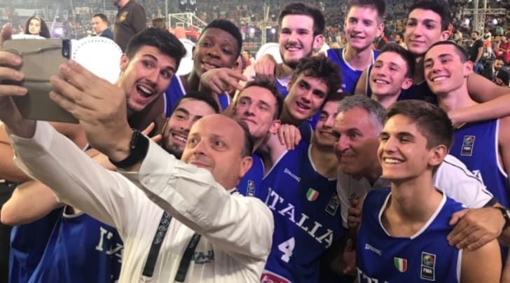 """Basket, Mondiali U.19: vince il Canada, """"solo"""" argento per l'Italia"""