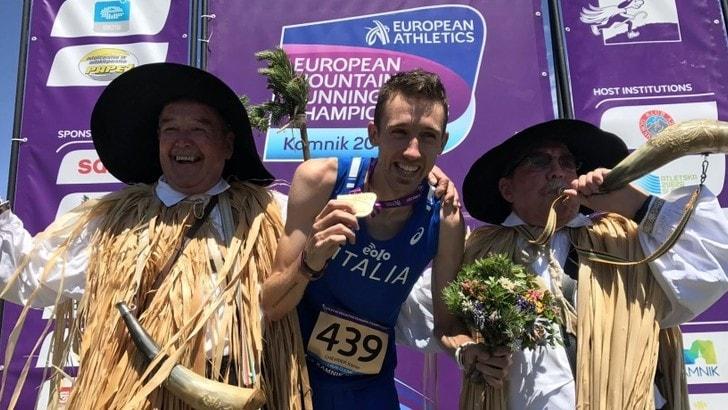 Xavier Chevrier è oro europeo di corsa in montagna